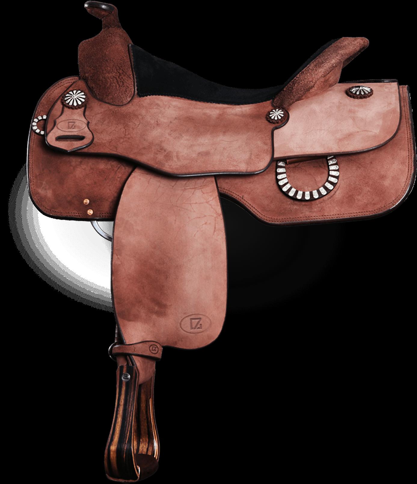 7G Equitation Sattel braun
